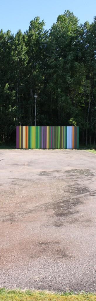 Bollplank for playground
